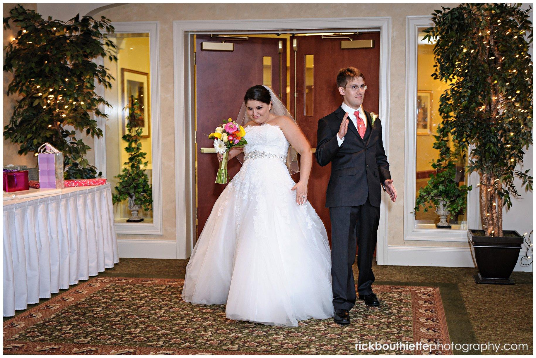 Atkinson country club wedding