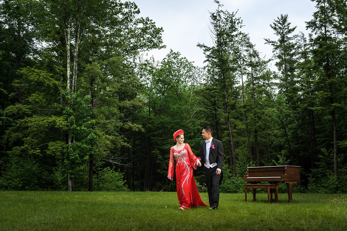 Bedford New Hampshire Wedding :: An + Jessica