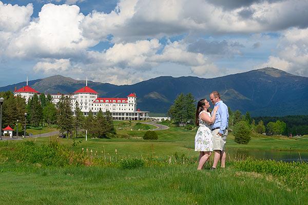 Omni Mount Washington Resort Engagement :: Garrett + Riley