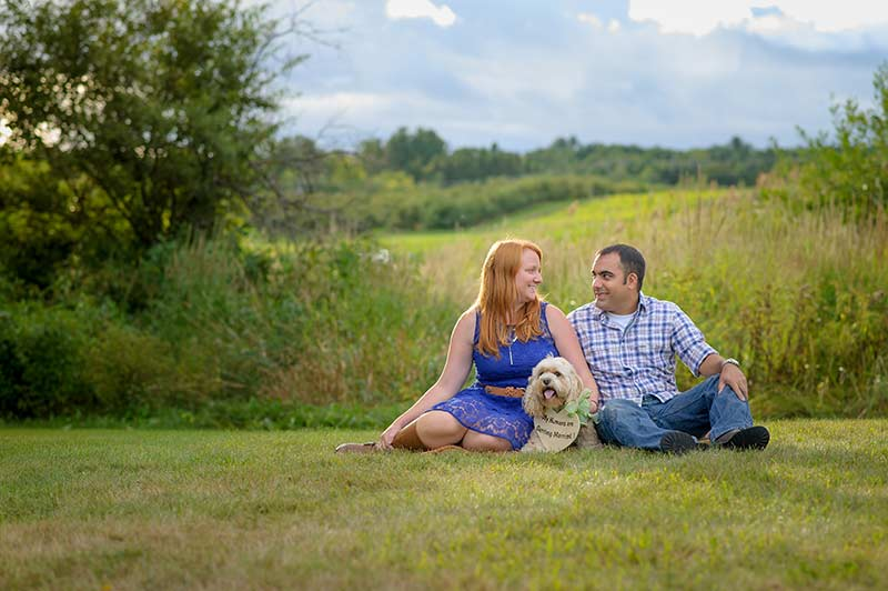 Apple Orchard Engagement Session :: Brian + Lisa