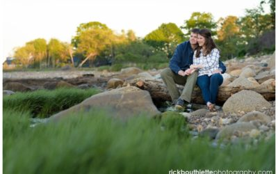 Seacoast Engagement Photography at Ordiorne Point :: Jack + Emilie
