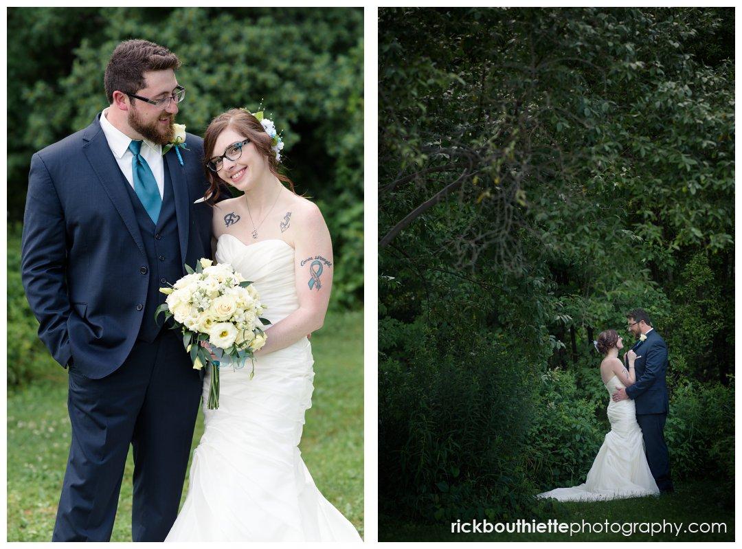 new hampshire backyard summer wedding colin missy