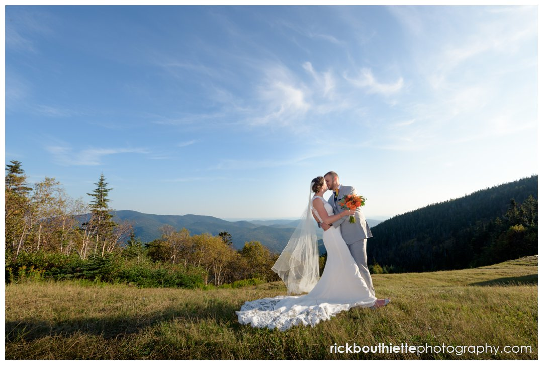 waterville valley resort mountaintop wedding sean carolyn