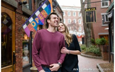 A Charming Portsmouth Engagement Session :: Joe & Emalyn