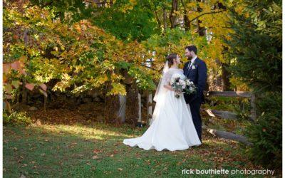 The Perfect Fall Wedding at the Thompson Inn :: Rick & Lauren